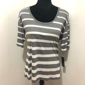 NWT Apt 9 striped t-shirt M
